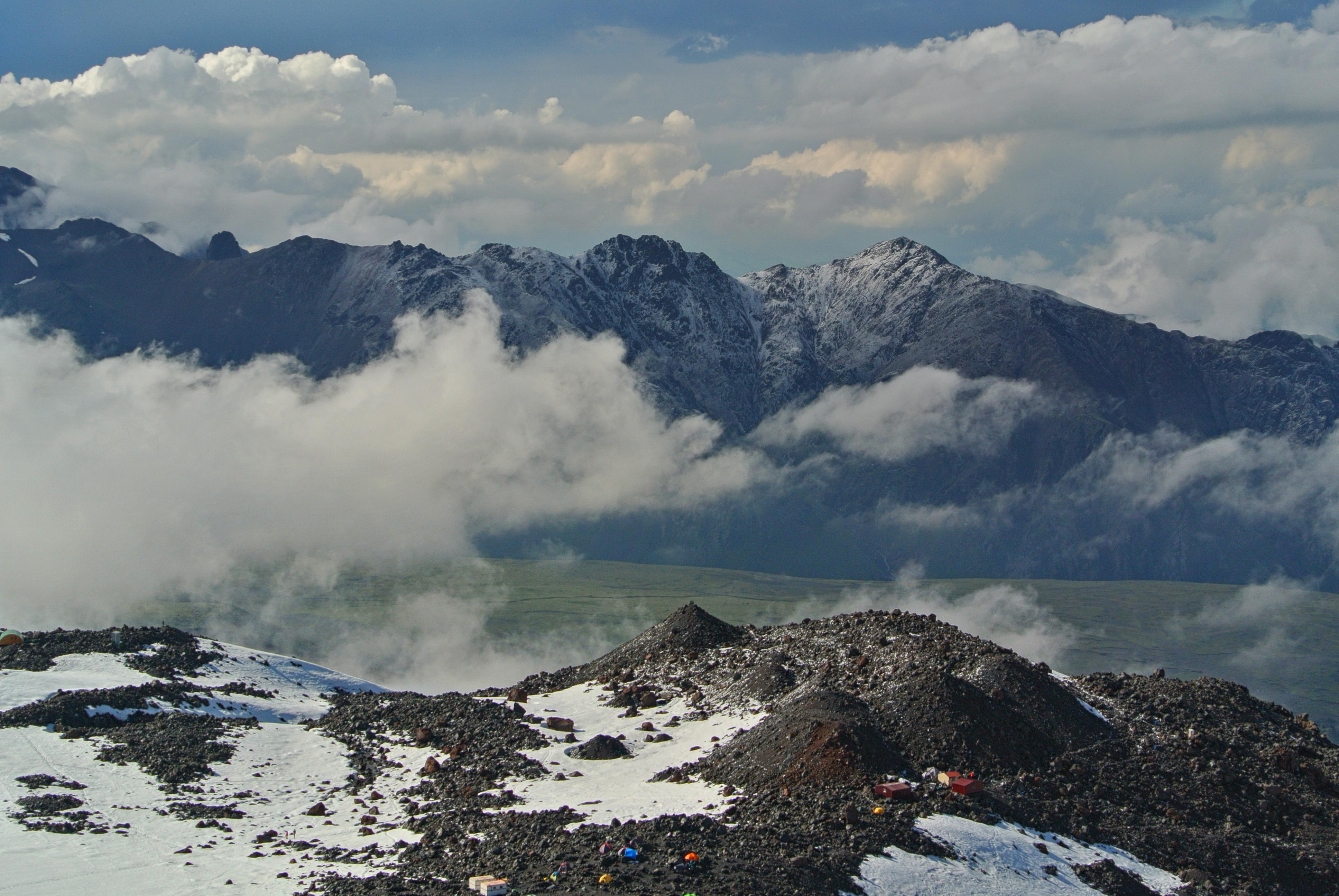 восхождение на эльбрус с севера в палатках