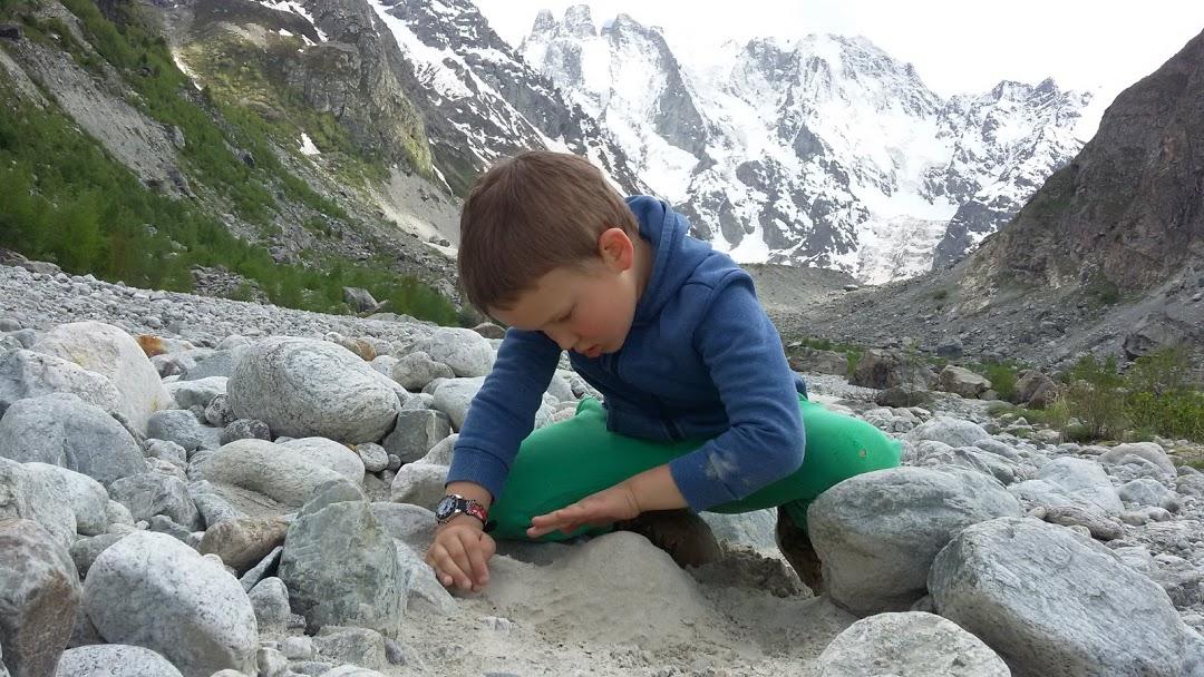 дети в горах