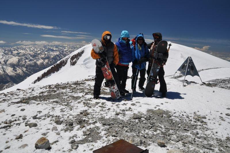 Эльбрус, восточная вершина