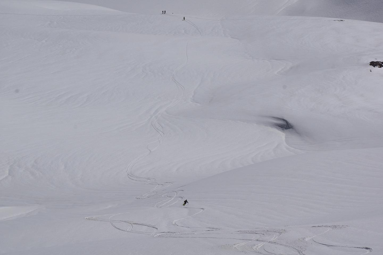 скитур на Эльбрусе