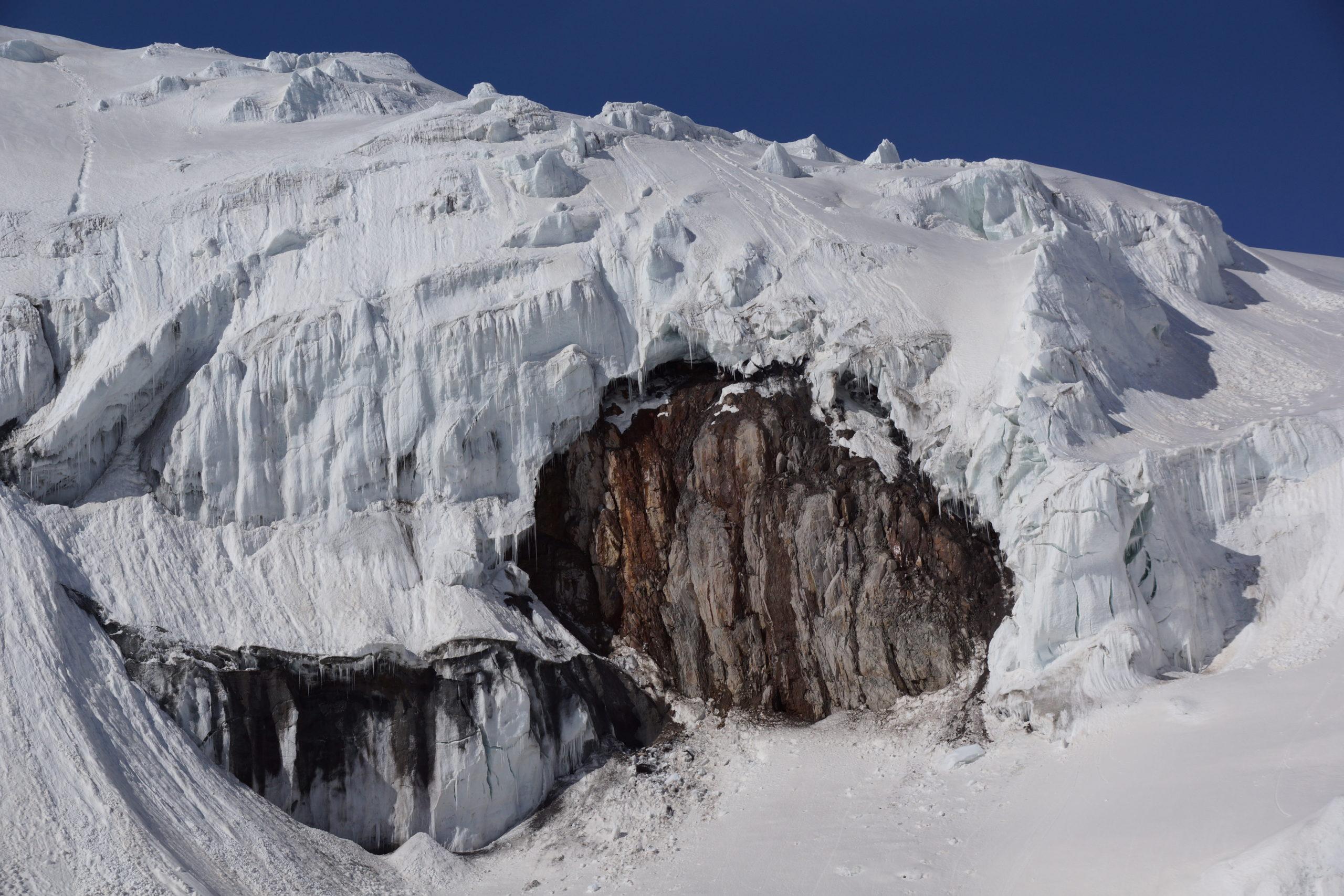 Путешествия по ледникам.