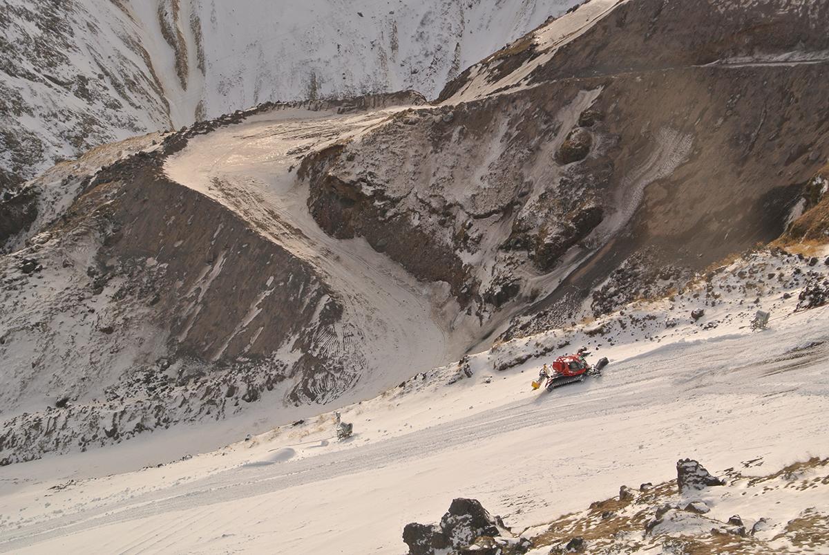 подготовка к горнолыжному сезону на эльбрусе