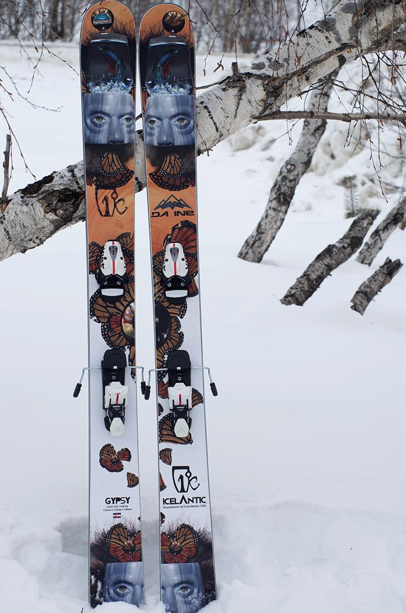 Лыжи icelantic gypsy купить