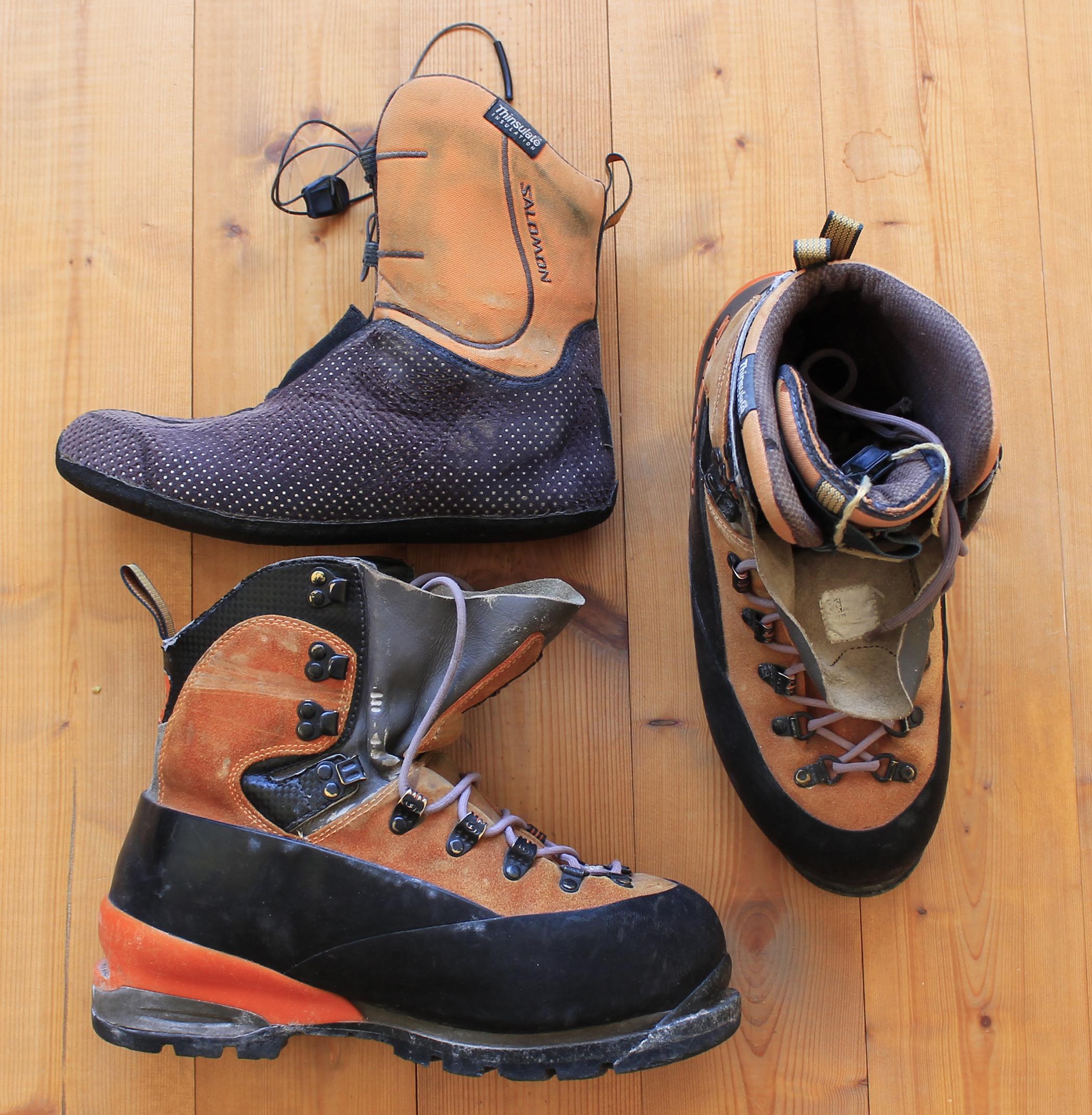 ботинки для восхождения на эльбрус