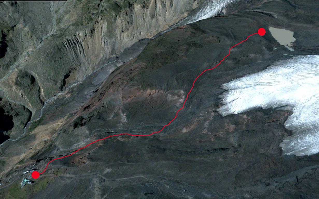 ледник малый аза
