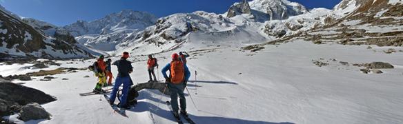 le ski de randonnée dans la région de l'Elbrus