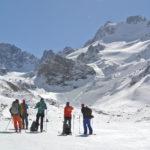le ski de randonne a l'Elbrouz