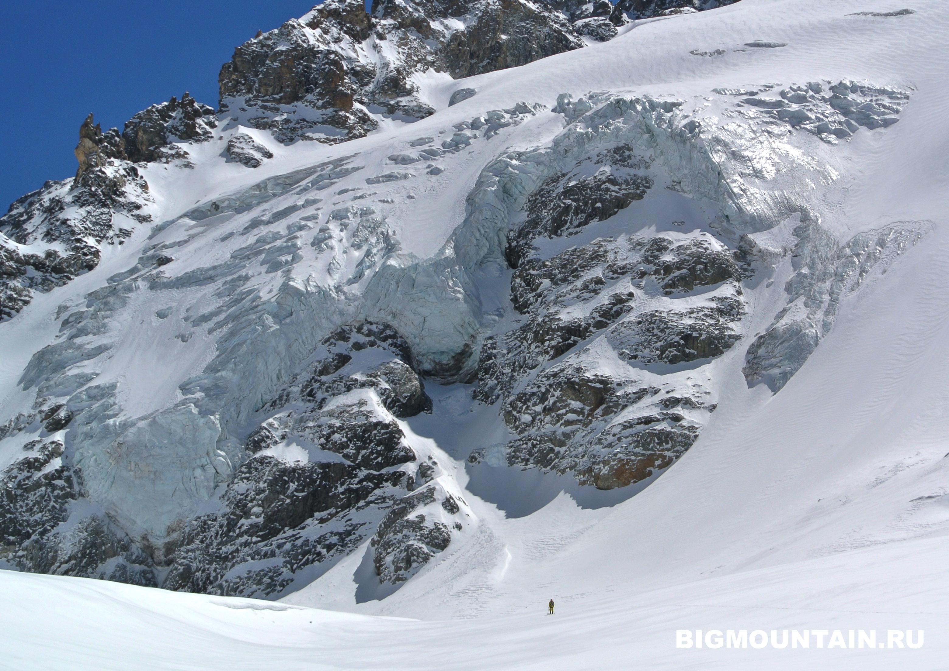 le ski de randonnee au caucase
